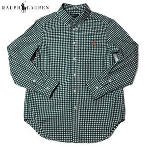 Polo Ralph Lauren's green checkered button-down